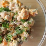 Warm Butternut Squash & Chickpea Salad