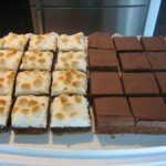 S'mores Brownies & Peanut Butter Blondies