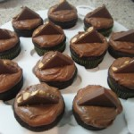 Sour Cream Chocolate Cupcakes with Nutella Frosting