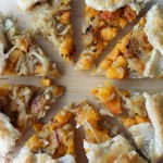 Butternut Squash & Caramelized Onion Galette