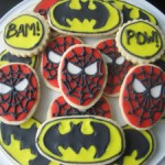 Batman & Spiderman Cookies