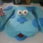 Blue's Clues Birthday Cake + S'mores on a Stick