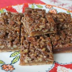 Maple Pecan Pie Squares