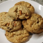 White Chocolate & Pretzel Peanut Butter Cookies