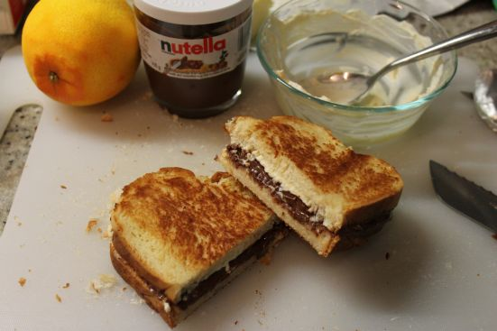 Nutella & Orange Grilled Cheese