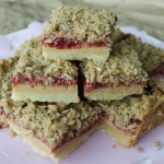 Baked Sunday Mornings: Peanut Butter & Jelly Bars
