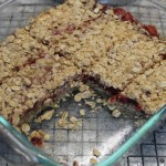 Strawberry Jam Oatmeal Squares