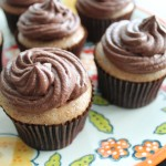 Chocolate Churro Cupcakes