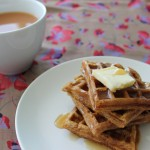 Baked Sunday Mornings: Malted Waffles