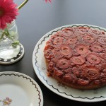 Strawberry Upside-Down Cake + Mother's Day Dinner