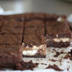 Guest Blogger: Danielle's Deep Chocolate Brownies with Chevre Swirls