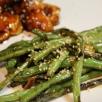 Sweet & Spicy Green Beans