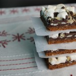 Mint Chocolate Chip Rocky Road Squares