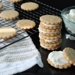 Baked Sunday Mornings: Malted Milk Sandwich Cookies