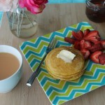 Baked Sunday Mornings: Cornmeal Griddle Cakes