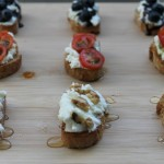 Toasted Walnut, Honey & Ricotta Crostini