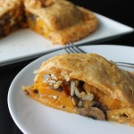 Roasted Butternut Squash & Mushroom Pie with Cheddar Pastry {Gastropost Mission #78}
