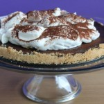 Baked Sunday Mornings: Chocolate Bourbon Tart