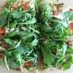 Goat Cheese & Arugula Pizza