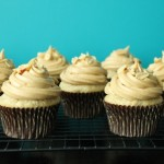 Banana Cupcakes with Peanut Butter Frosting