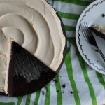 Chocolate Stout Cake with Baileys Buttercream Frosting
