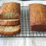 Honey Banana Poppy Seed Bread