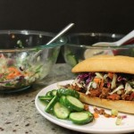 Thai Sloppy Joes with Asian Slaw