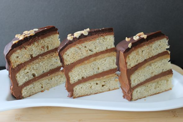 Bananas Cake Slices