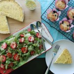 Lemon & Black Pepper Quiche