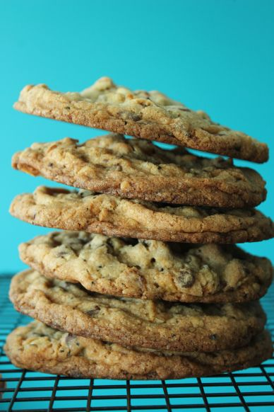 Compost Cookie Stack