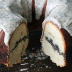 Baked Sunday Mornings: Poppy Seed Pound Cake with Brown Butter Glaze