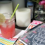 Rhubarb Remix: Rhubarb, Lemon & Vanilla Bean Simple Syrup