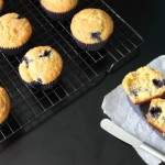 Blueberry-Lime Cornmeal Muffins {Messy Baker Monday}