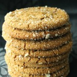 Baked Sunday Mornings: Gingersnaps with Lemon Sugar