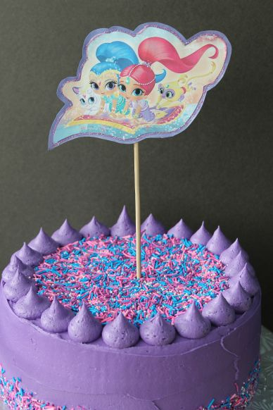 Shimmer amp Shine Birthday Cake Whats Cooking On Planet Byn