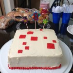 Minecraft Birthday Cake 1.0