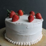 Strawberry Supreme Cake