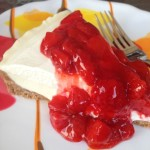Frozen Strawberry Cheesecake Pie