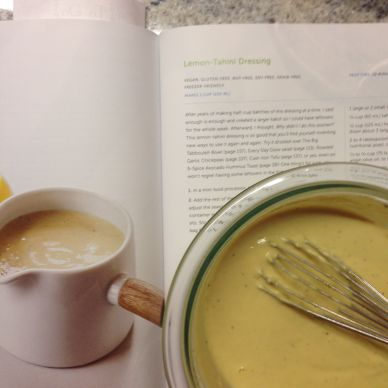 15. Lemon-Tahini Dressing