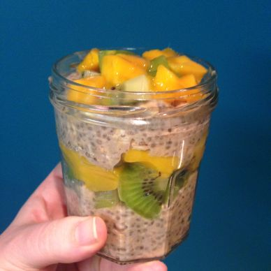 33. Tropical Overnight Oats