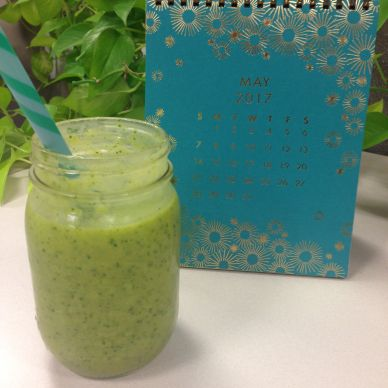 36. Green Matcha Mango Ginger Smoothie