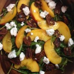 peach-arugula-salad