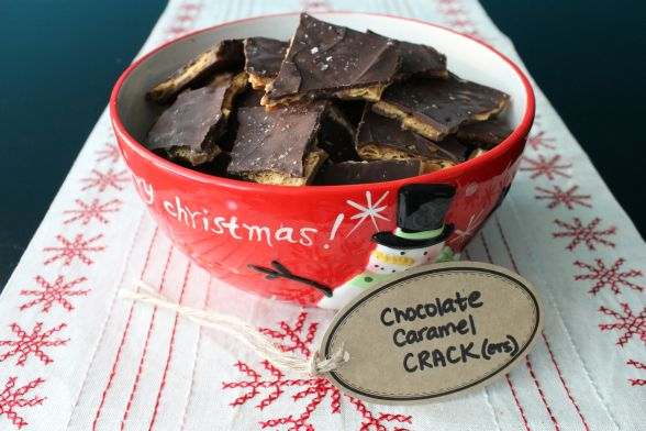 Chocolate Caramel Crack(ers) Recipe — Dishmaps