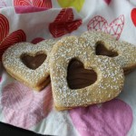 Chocolate Hazelnut Linzer Hearts