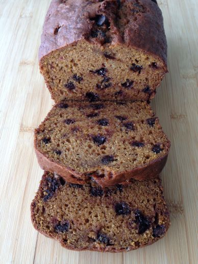 Pumpkin Chocolate Chip Loaf
