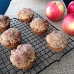 Cinnamon Sugar Apple Muffins