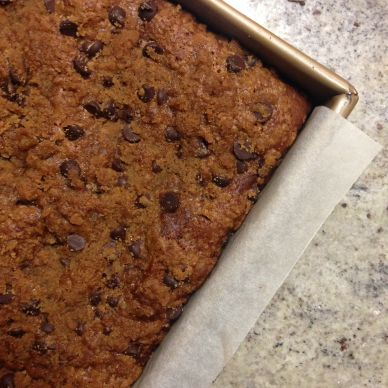 Pumpkin & Chocolate Chip Crumb Cake