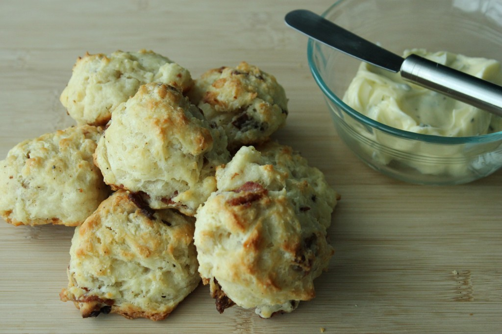 Savoury Bacon Biscuits