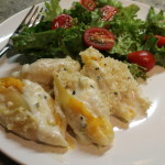 Butternut Squash, Sage & Goat Cheese Stuffed Shells