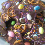 Easter Candy Bark + Homemade Cream Eggs